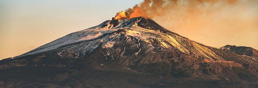 Randonnée sur le volcan Etna